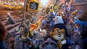 Zootopia full poster artwork