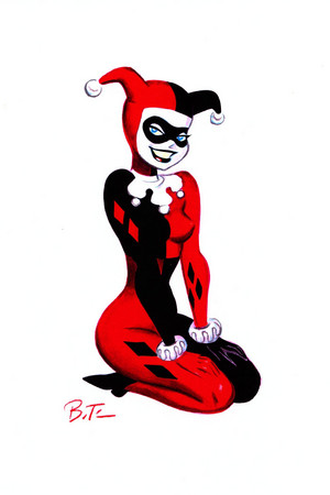 Harley Quinn by Bruce Time