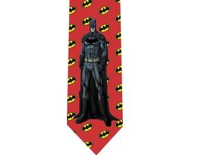 Batman tie 3 detail