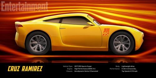 Disney Pixar Cars achtergrond entitled cars 3 cruz ramirez