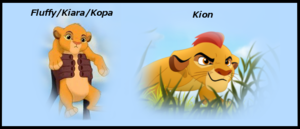 could kion be fluffy