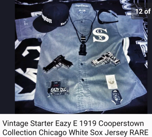 Eazy E Sox Hat: Eazye187 Images Eazye Chicago White Sox Cooperstown 1919