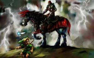 ganon on horse