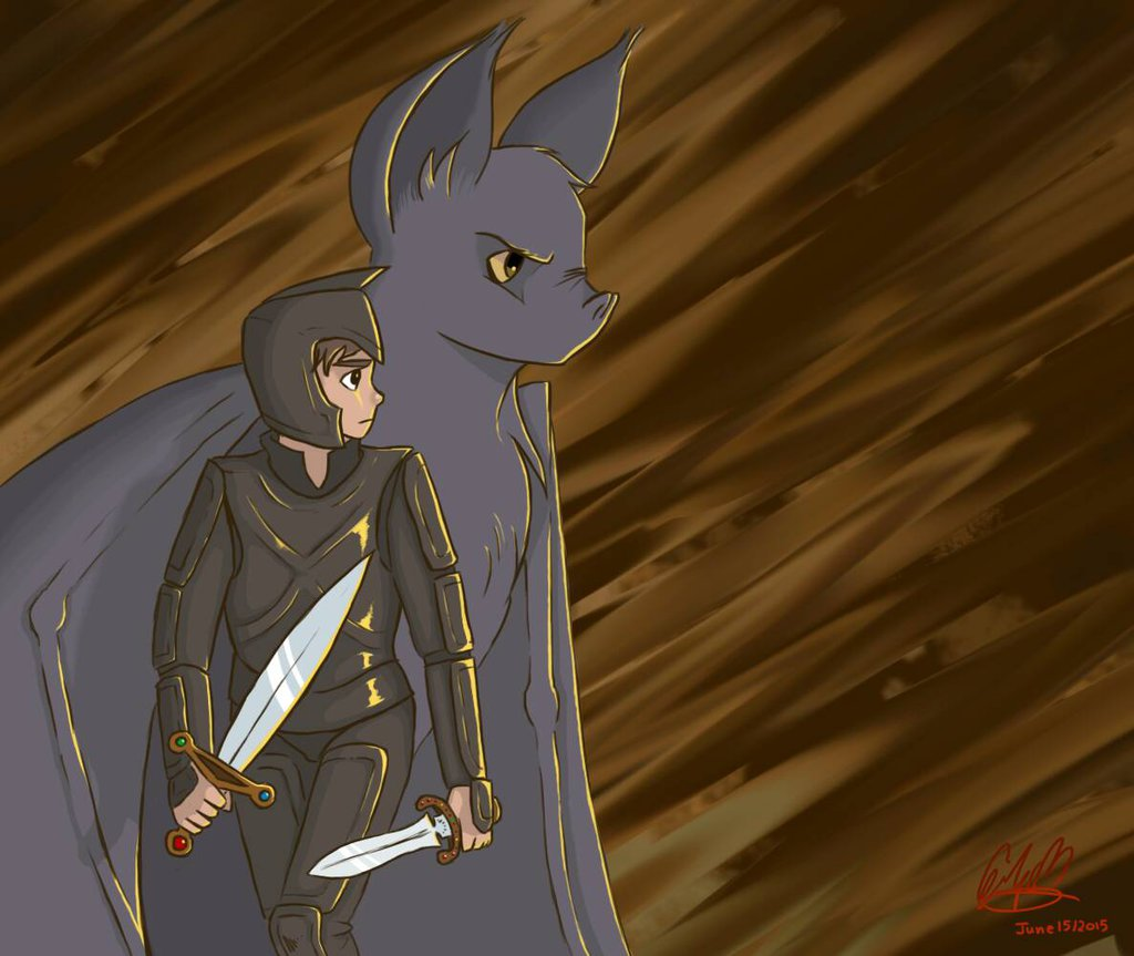 gregor and ares , The Underland Chronicles Photo (40150182
