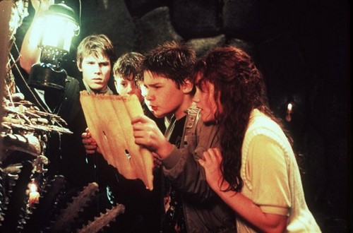 The Goonies দেওয়ালপত্র entitled josh brolin sean astin corey feldman kerri lee 52791
