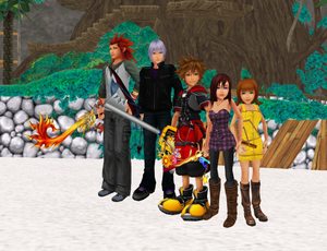 kingdom hearts friends outit on there power