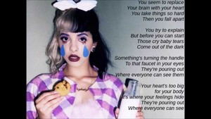 melanie crybaby lyrics