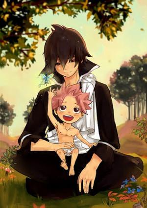 natsu and zeref :D