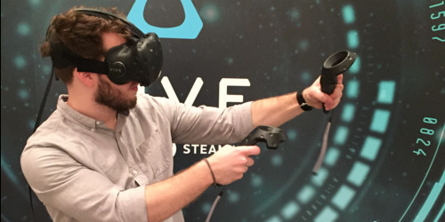 HTC Vive wallpaper called HTC Vive surpassing oculus rift