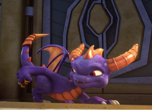Spyro The Dragon پیپر وال titled no one wants a pic of you're butt