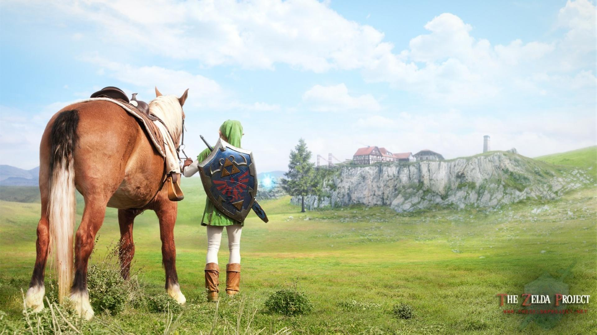 the legend of zelda: ocarina of time images realistic link hd