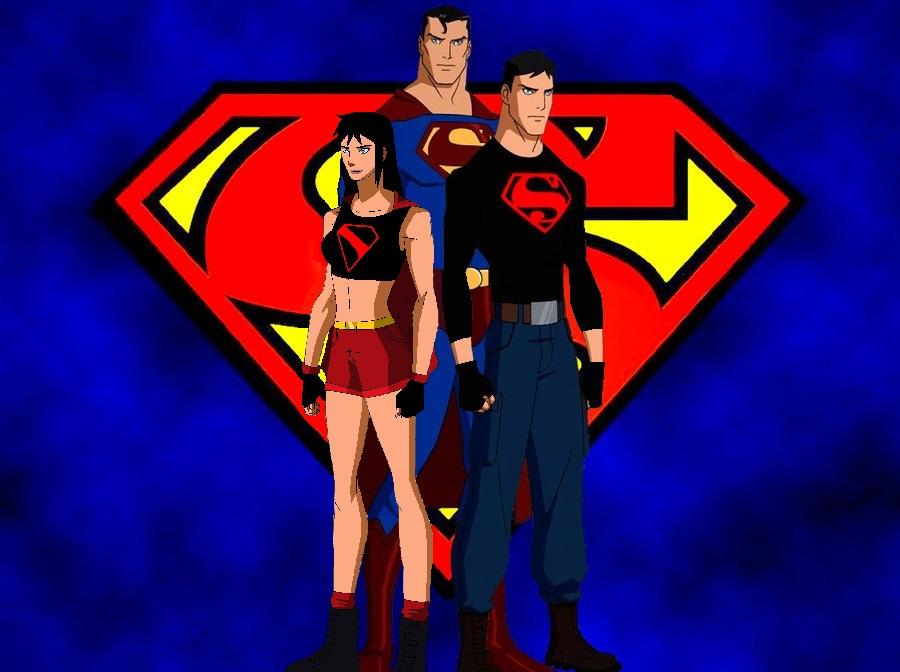 superman, Superboy, and Supergirl