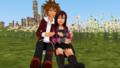 sweet crush romances sora x kairi mmd