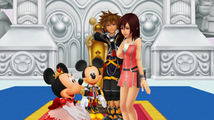 anda always here to welcome in Disney istana, castle kairi