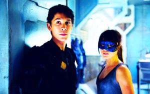 Bellamy and Octavia