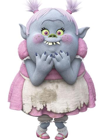 DreamWorks Trolls fondo de pantalla titled Bridget