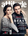 Emma Watson and Dan Stevens cover Attitude UK (April 2017)  - emma-watson photo