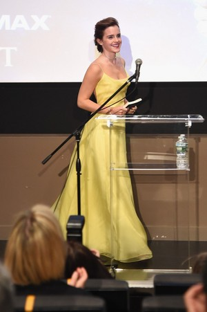 Emma Watson at the NY Film Society For Kids [March 13, 2017]
