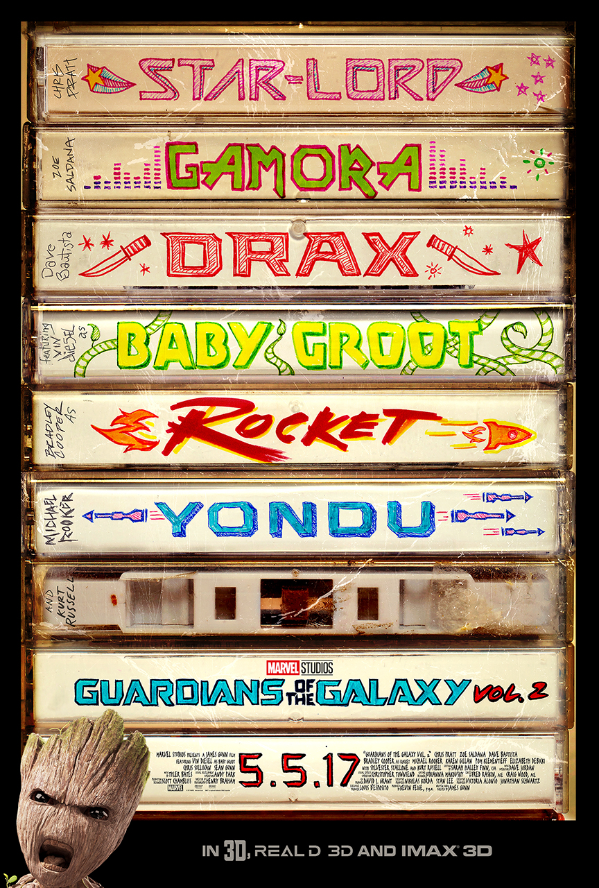 'Guardians Of The Galaxy Vol. 2' Poster