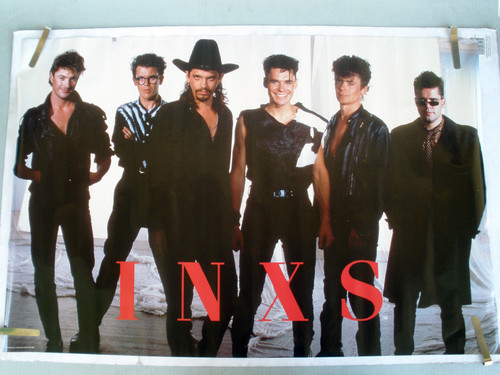 Michael hutchence images inxs 1988 vintage original music for 1988 club music