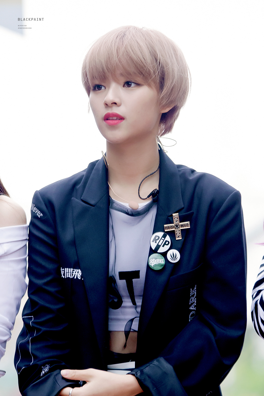 Last Day With Jeongyeon Having Long Hair She Is Cutting
