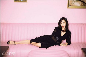 Song Ji Hyo for 'Allure'!