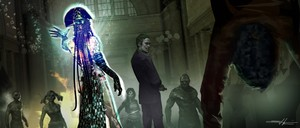 'Suicide Squad' Concept Art ~ Enchantress and The Joker
