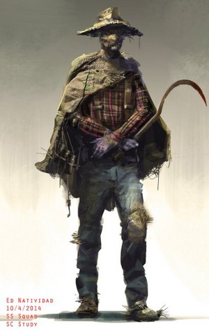 'Suicide Squad' Concept Art ~ Scarecrow