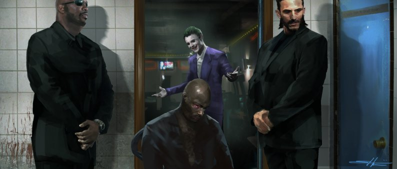 'Suicide Squad' Concept Art ~ The Joker