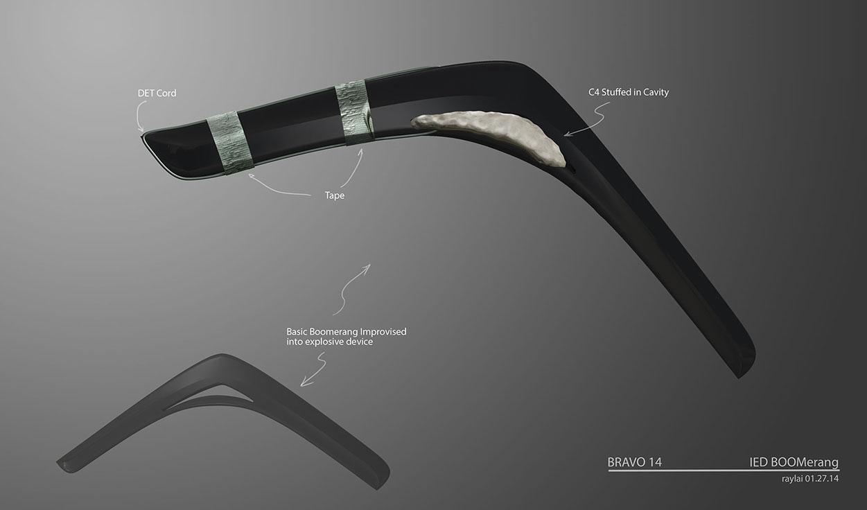 'Suicide Squad' Designs ~ Boomerangs