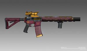 'Suicide Squad' Designs ~ Deadshot's Custom AR-15