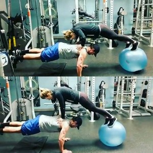 """""""What a workout partner!!""""- Stephen Amell"""