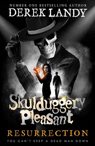 Skulduggery Pleasant wallpaper entitled 10Th SP book cover