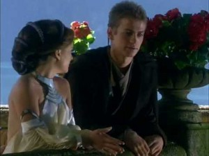 Anakin and Padmé on Naboo