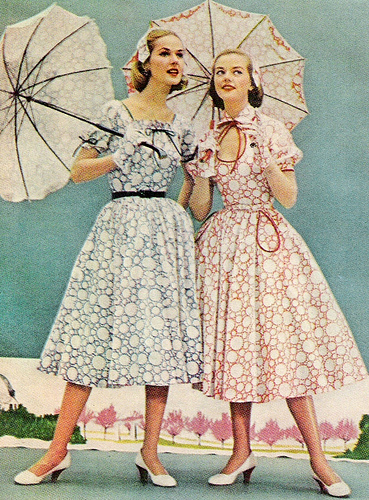 early 1950s fashion - photo #14