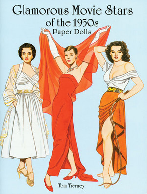 50's Movie Stars,Paper गुड़िया