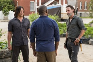 7x09 ~ Rock in the Road ~ Daryl, Rick and morgan