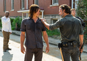 7x09 ~ Rock in the Road ~ Daryl and Rick