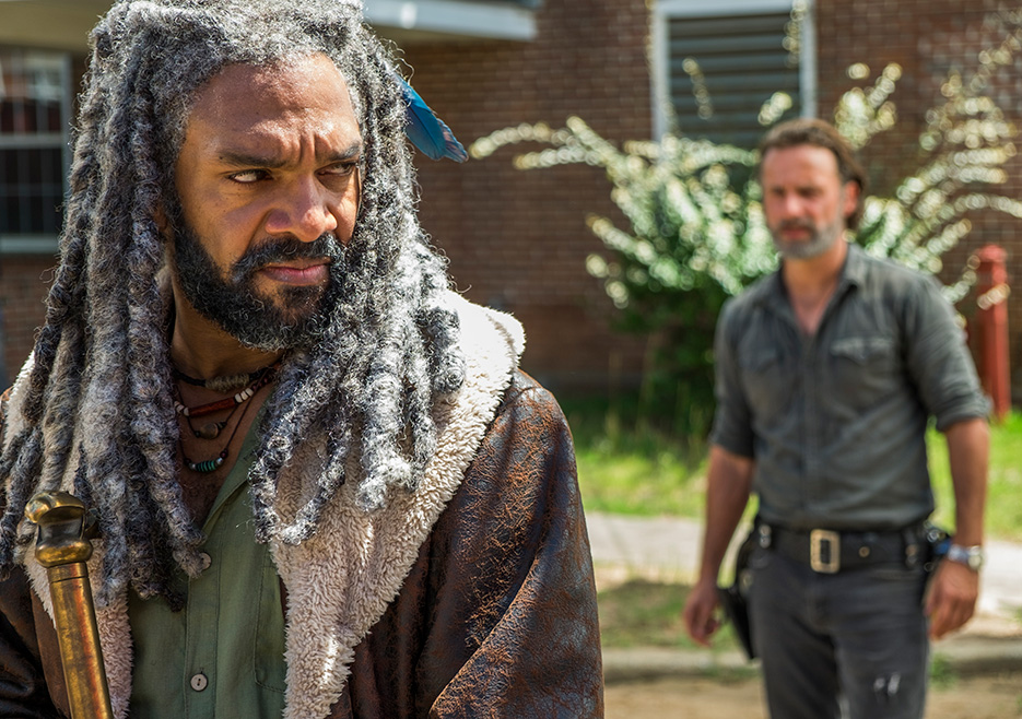7x09 ~ Rock in the Road ~ Ezekiel and Rick