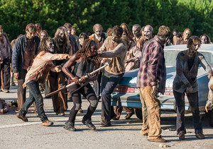 7x09 ~ Rock in the Road ~ Michonne