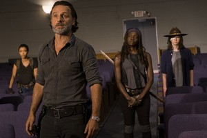 7x09 ~ Rock in the Road ~ Rick, Michonne, Carl and Sasha