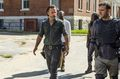 7x09 ~ Rock in the Road ~ Rick, Michonne, Morgan and Richard - the-walking-dead photo