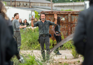 7x09 ~ Rock in the Road ~ Rick, Michonne and Aaron