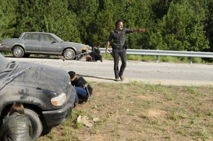 7x09 ~ Rock in the Road ~ Rick, Michonne and Sasha