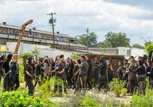 7x09 ~ Rock in the Road ~ Rick, Tara, Rosita, Michonne and Aaron