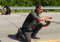 7x09 ~ Rock in the Road ~ Rick and Michonne - the-walking-dead photo