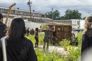 7x09 ~ Rock in the Road ~ Rick and Michonne