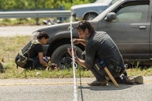 7x09 ~ Rock in the Road ~ Rick and Sasha