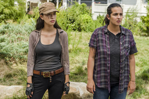 7x09 ~ Rock in the Road ~ Rosita and Tara