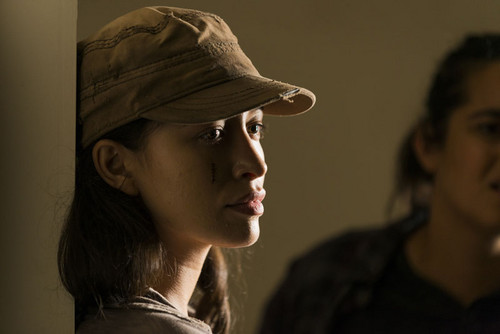 The Walking Dead achtergrond entitled 7x09 ~ Rock in the Road ~ Rosita